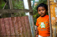A boy from a small village outside of Munnar, India